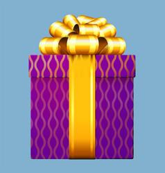 gift box decoration vector image