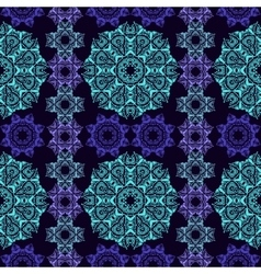 decorative pattern in oriental style vector image