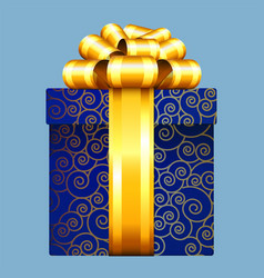 gift box decoration vector image