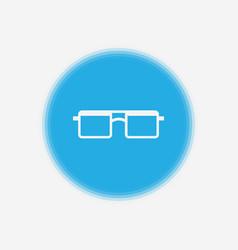 glasses icon sign symbol vector image