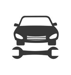 Repair car service icon vector