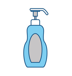 Spa cream bottle vector