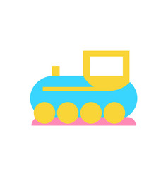 toy train for kids play icon vector image
