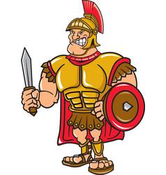 Trojan logo mascot vector