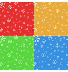 Background with snowflakes vector image