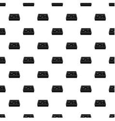 Cat toilet pattern vector