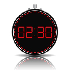 Timer vector image vector image