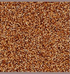 Coffee color mosaic texture vector