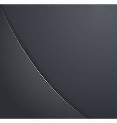 Design elements of dark metal vector