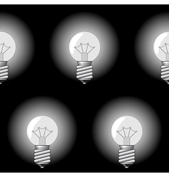 Electrical bulbs vector