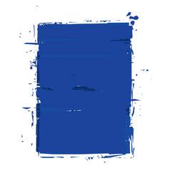 Grunge frame - blue vector