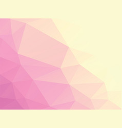 light rose geometric background vector image
