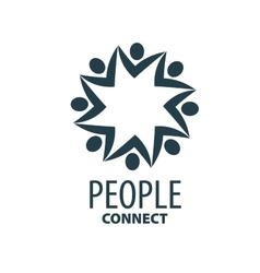 Logo people vector