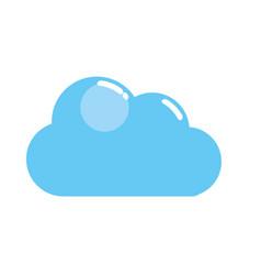 Nice cloud design vector