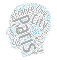 Paris A City That Will Captivate You text vector image