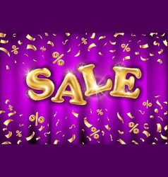 sale template for banners sites advertisement vector image