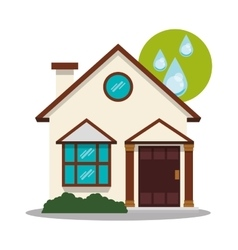Smart house technology vector