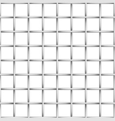 steel grid realistic background vector image