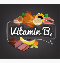 Vitamin banner image vector