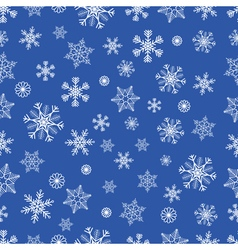 Winter seamless backgound vector image