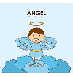 angel design vector image vector image