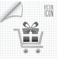 commerce icon design vector image vector image