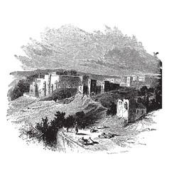 Bethlehem vintage vector