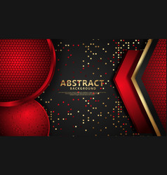 Elegant and futuristic abstract realistic vector