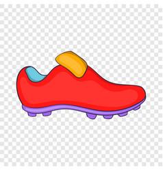Football boots icon cartoon style vector