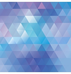 Geometric background mosaics vector image