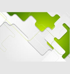 Green grey abstract geometric corporate concept vector