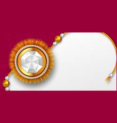 Raksha bandhan background vector