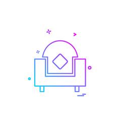 Sofa icon design vector
