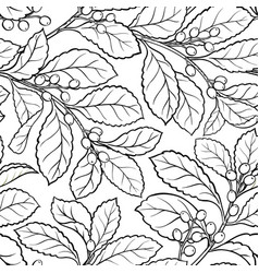 Yerba mate seamless pattern vector