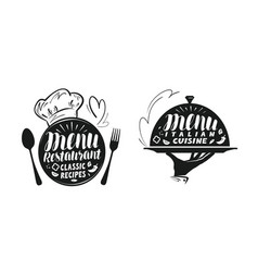 catering canteen concept for design vector image vector image