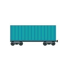 Freight car icon vector