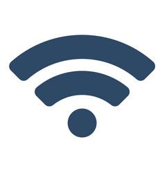 wifi icon flat vector image