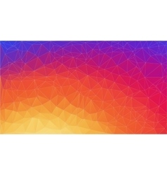 Abstract 2D gradient geometric colorful background vector