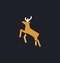 Deer computer symbol vector