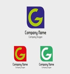 G logo template - Symbol letter G vector