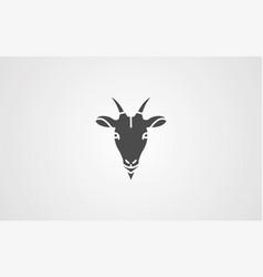 goat icon sign symbol vector image