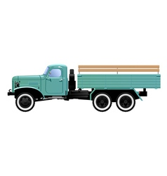 lorry vector image