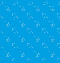 Pipet bulb pattern seamless blue vector