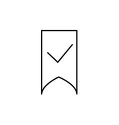 save bookmark icon vector image