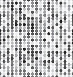 seamless pattern of circles vector image
