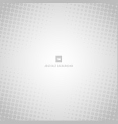 abstract white and gray background with halftone vector image