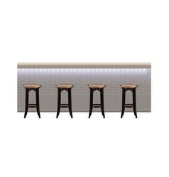 Bar counter vector