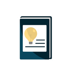 book creativity idea property intellectual vector image