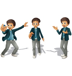 boys vector image
