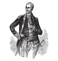 General lafayette vintage vector